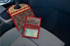 Lixeirinho para Carro e Porta Documentos