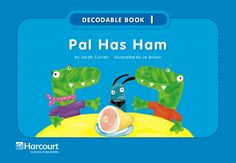 Decodable books in color for Kindergarten Reading Fluency, Reading Intervention, Reading Activities, Teaching Reading, Stem Activities, Learning, Phonics Books, Teaching Phonics, Teaching Biology