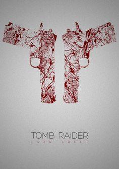 Tomb Raider Art Print by Rizwanb