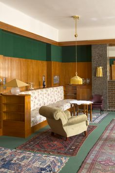 Adolf Loos, Paul Raftery · Apartment at 12 Klatovská Street Luxury Homes Interior, Home Interior Design, Interior Decorating, Classic Home Decor, Classic House, Cheap Wall Decor, Cheap Home Decor, Home Decor Pictures, Indian Home Decor
