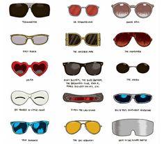 movies via sunglasses
