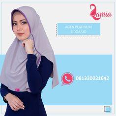Halo #sahabatlamia di Sidoarjo, yuk diorder hijabnya, kerudung nyaman dan tidak gerah enak dipakai sehari- hari. Lihat Katalog Produk di Album @lamiahijabkatalog . WA: 081330031642 IG : @lamiahijabsidoarjo