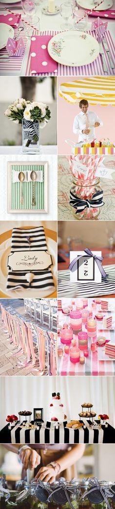Praise Wedding » Wedding Inspiration and Planning » 50 Stripe Wedding Inspirations
