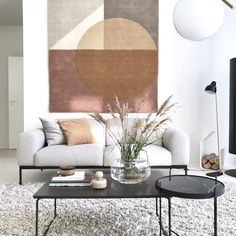 Image may contain: table, living room and indoor Ikea Malm Dresser, Indoor, Living Room, Architecture, Sofa, Instagram, Design, Home Decor, Image