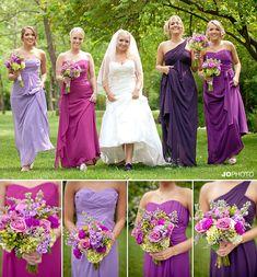 purple wedding, bride and bridesmaids, Knoxville wedding, maryville wedding, knoxville wedding venue, Smithview pavilion, jophoto, http://www.jophotoonline.com