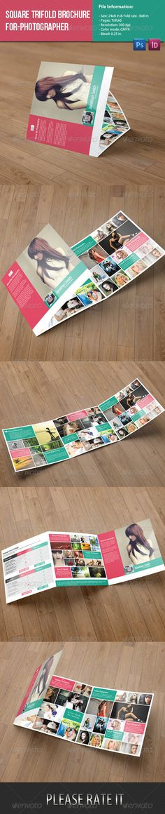 Square Trifold Brochure-Photography