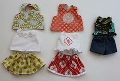 Doll clothes tutorial round up