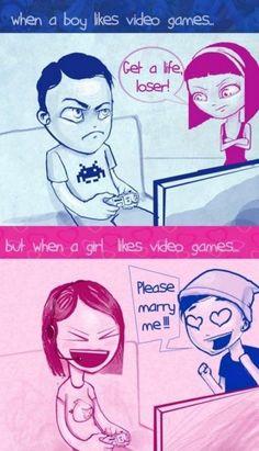 Men vs Women (17 Photos)