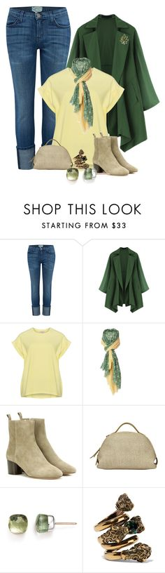 """""""Untitled #206"""" by vero-mrsb ❤ liked on Polyvore featuring Current/Elliott, Isabel Marant, Borbonese, Pomellato, Gucci and Kenneth Jay Lane"""
