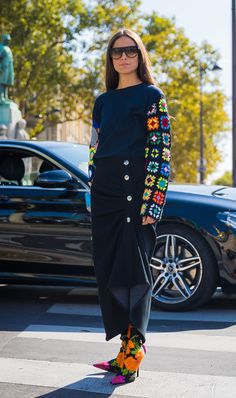 49 Seriously Chic Paris Fashion Week Spring 2018 Street Style Looks — FashionFiles