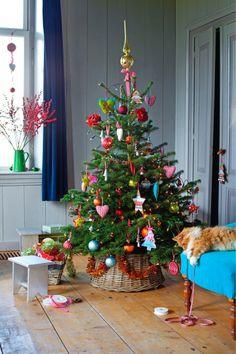 Kerstboom -Trend Bonte Mix- via intratuin #Christmas
