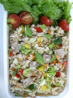 brown rice fried rice   20120914