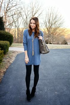 Cozy Blue dress from H&M