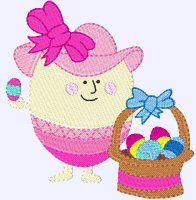 Embroidery | Free Machine Embroidery Designs | Bunnycup Embroidery | Easter Eggs
