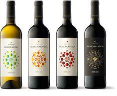 Mesies Wines packaging by Txell Gràcia & Albert Martínez López Amor