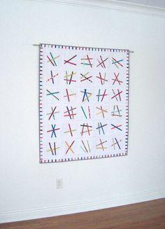 Fine Lines Quilt Pattern Modern Quilt Pattern by KarenGriskaQuilts,