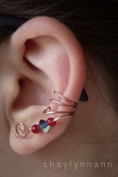 Easy Ear Cuffs and Ear Wraps for Un-pierced Ears