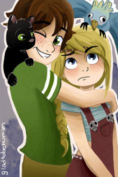Hicstrid hug by on DeviantArt. Hiccup, Astrid, Toothless, and Stormfly Hiccup And Toothless, Hiccup And Astrid, Httyd 3, How To Train Dragon, How To Train Your, Dreamworks Animation, Disney And Dreamworks, Disney Princess Pictures, Dragon Trainer
