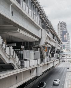 It was like a scene from Bladerunner, advertising that stretched across entire building facades, highway underpasses that time forgot. Highway Architecture, Landscape Architecture, Architecture Design, Adventure Time Art, Adventure Is Out There, Building Aesthetic, Architectural Engineering, Cyberpunk City, Bangkok Travel