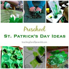A collection of our favorite St. Patrick's Day activities, plus more from my blogging friends! Perfect for preschoolers!