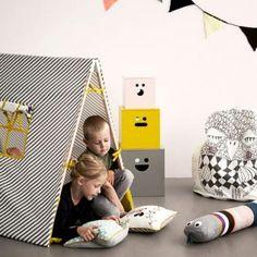 ferm LIVING - Kids Tent, børnetelt  - grå