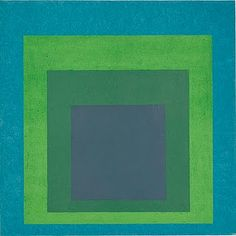 Josef Albers (German American, 1888–1976) | Homage to the Square: Soft Spoken, 1969 | Oil on masonite