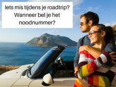Iets mis tijdens je roadtrip? Wanneer bel je het noodnummer? #sunnycars #roadttriptip #autohuur