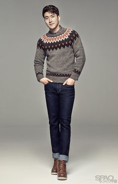 Siwon (Super Junior) I LOVE HIS OUTFIT