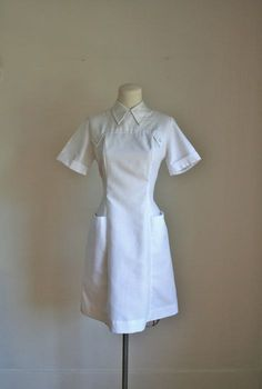 vintage 60s nurse uniform  NURSE JANE nurse dress / S by MsTips, $24.00