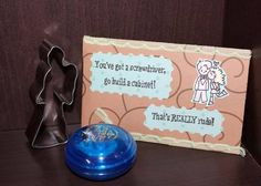 Received from Silentblair Dr Who Fill-a-box swap - Weeping angel cookie cutter, TARDIS blue yo-yo, magnet