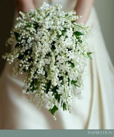 Lily of the Valley bouquet...$$$$$$$$$$
