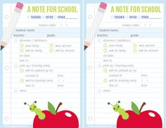 Free School Printables for the month of May only!! Get it while it's hot!