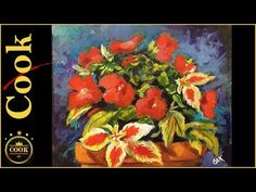 What's New in Still Life Florals?  Honing in on a  Complementary  Palette  of Red and Green - YouTube