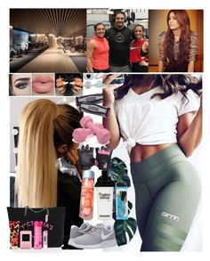"""""""Work out 💖Carola💖"""" by carolalink ❤ liked on Polyvore featuring Religion Clothing, NIKE, BERRICLE, Mark Broumand, Gaiam and Victoria's Secret"""