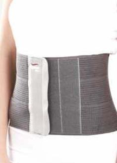 Tynor Tummy Trimmer or Abdominal Belt Tummy Trimmer/Abdominal belt supports and compresses the abdominal muscles for waist line reduction and is used as a post operative or post delivery aid. Perfect elasticity. Breathable materials. Dermophillic. No rolling over, no buckling.  Tynor Tummy Trimmer or Abdominal Belt Features Extra porous three panel webbing improves ventilation and comfort of the patient. Broad hook and loop tape panel offers better holding and size adjustability.