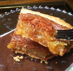 Brown Sugar Pie. tastes like pecan pie without the pecans