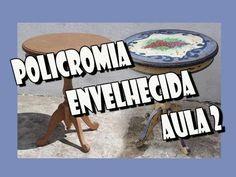 Policromia Envelhecida : Aula 2 - YouTube