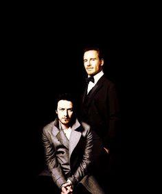 Xavier (James McAvoy) e Magneto (Michael Fassbender)