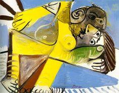 Pablo Picasso - Couple, 1969