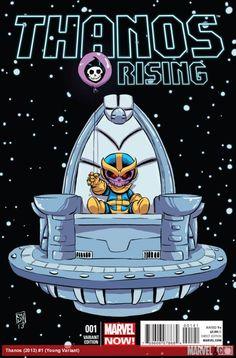 THANOS RISING (2013) #1 (YOUNG VARIANT)
