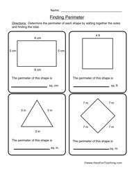 Free area worksheets 2nd grade
