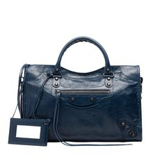 Balenciaga Shoulder Bag Women Dark Blue - Discover the latest collection and buy online Women on the Official Online Store.