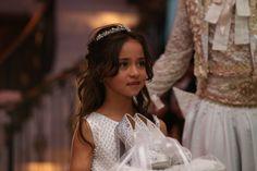 Princesa Sophia entregou os sapatos e recebeu a boneca