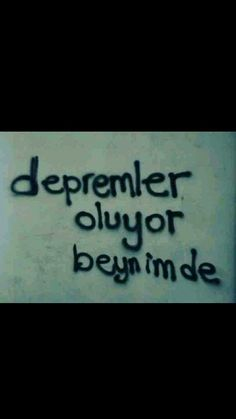 Depremler oluyor beynimde Ahmet Kaya