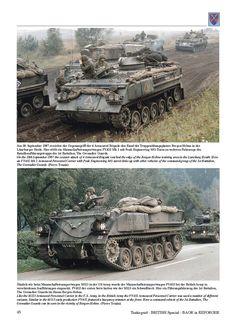 BAOR in REFORGER - Vehicles of the British Army of the Rhine in the REFORGER Exercises 1975-91 - TANKOGRAD Publishing - Verlag Jochen Vollert - Militärfahrzeug