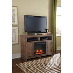 Sams Club...Fireplace TV Stand/Heater | Livingroom ideas ...