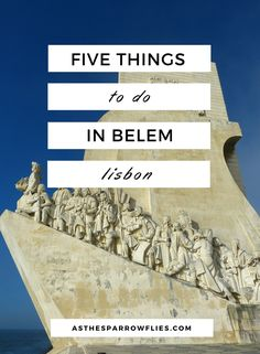 Things To Do in Belem | Lisbon City Breaks | Visit Belem | Portugal | Europe