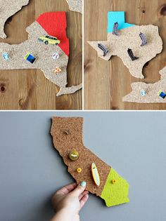 DIY State-Shaped Memo Boards | You Pick the Brit Kit
