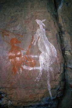 Rock Painting of the Aborigines