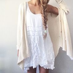 """Anna Safiran on Instagram: """"Monday, may your coffee be strong☕️ // @freepeople #FPMe #freepeople"""" #tumblr ootd, fashion #dress, #blonde #free people hairstyle, outfit"""